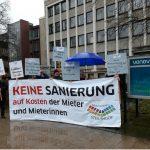 Steilshoop - Proteste gegen VONOVIA