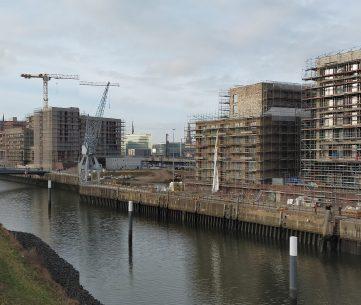 Bauten im Baakenhafen